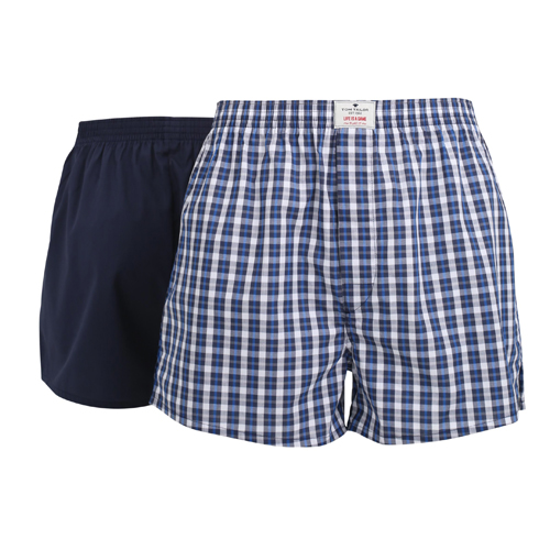 Boxershorts Tom Tailor - 2 Pack - Multi Dunkelblau (1)