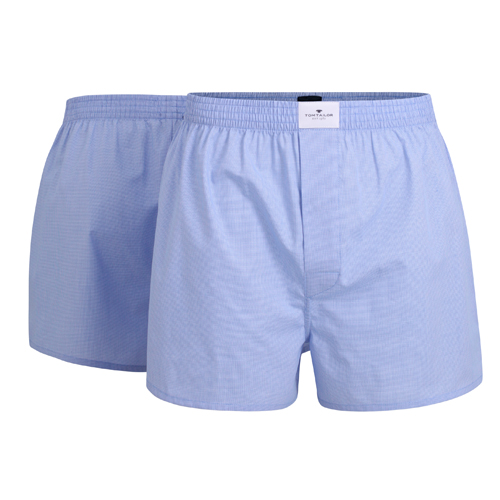 Boxershorts Tom Tailor - 2 Pack - Hellblau (1)