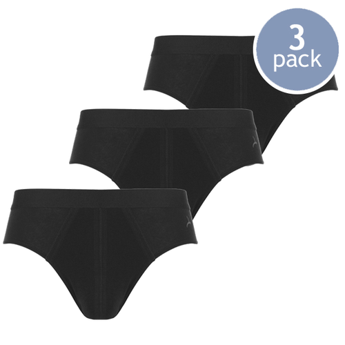 Schwarze Slips- Ten Cate - 3er Pack (1)